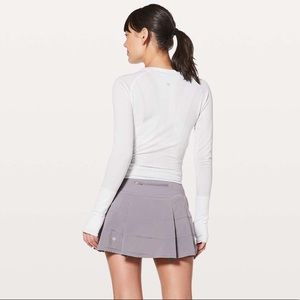 lululemon dusty dawn pace rival skirt